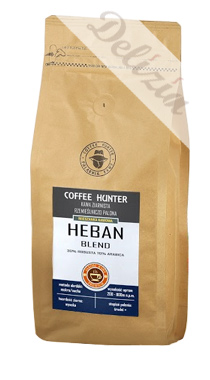Kawa ziarnista Coffee Hunter Heban Blend 1000g